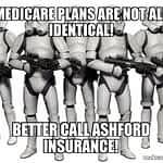 Identical Medicare Plans